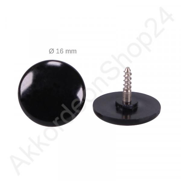Ø16,0mm treble button black