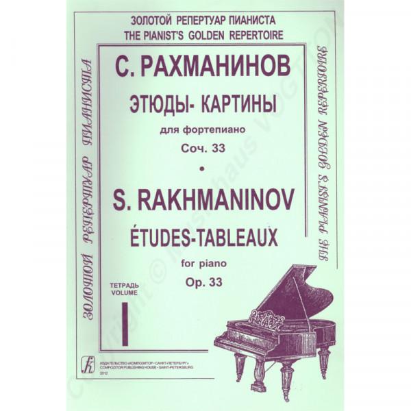 Sergej Rachmaninov, Bilder-Etüden, Heft 1