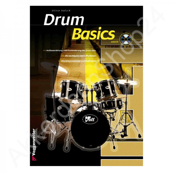 Drum Basics (with CD)