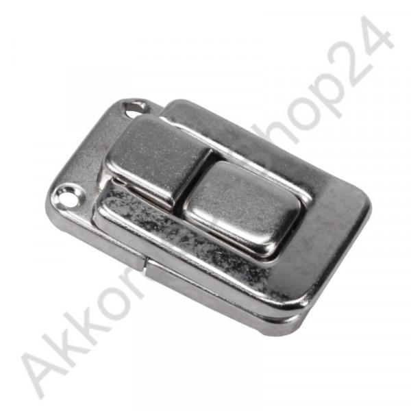 54x34x12mm Case lock nickel-plated