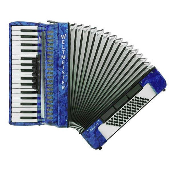 Accordion-Weltmeister-Achat-72-blue