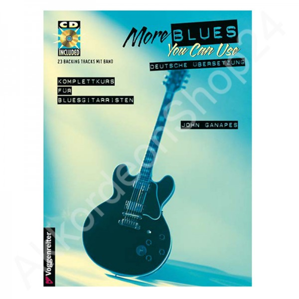 John Ganapes - More blues you can use (with CD)
