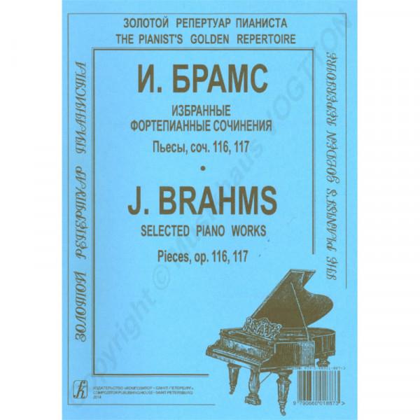 Johannes Brahms ausgewählte Werke op. 116, 117 für Klavier