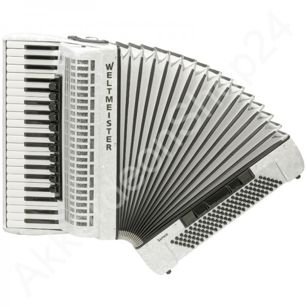 Accordion-Saphir-120-white