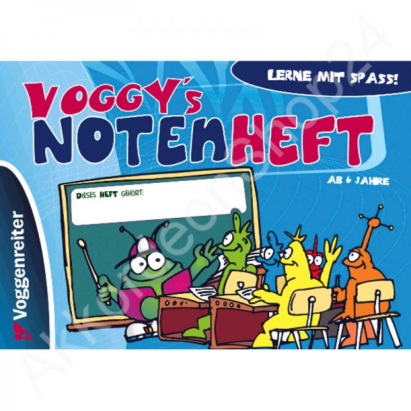 Voggy´s Notenheft