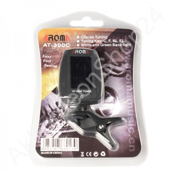 AROMA AT-300C Tuner for Wind instruments