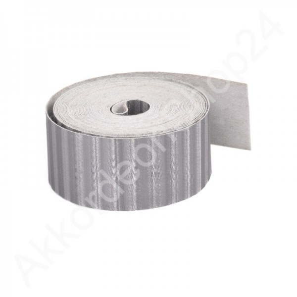 Bellow-tape-19mm-silver
