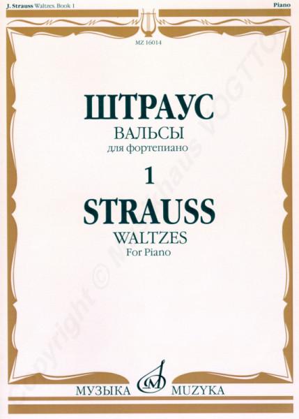 Strauss Richard. Walzer für Klavier, Buch 1