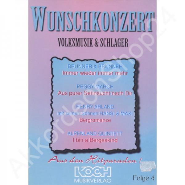 Wunschkonzert Volksmusik & Schlager
