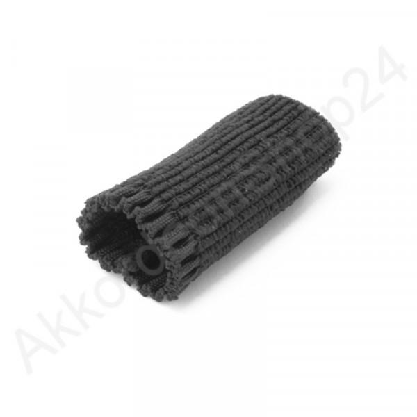 Buckle guard 5,5 cm for shoulder straps, black