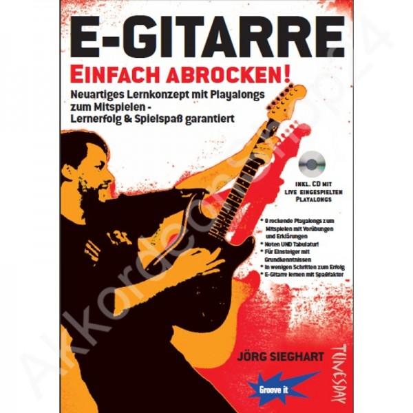 E-Gitarre Einfach Abrocken (inkl. CD)