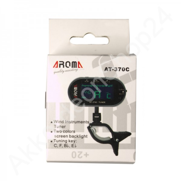 AROMA AT-370C Tuner for Wind instruments