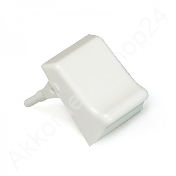 Treble register switch - white