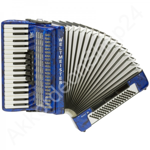 Accordion-Weltmeister-Achat-80-blue