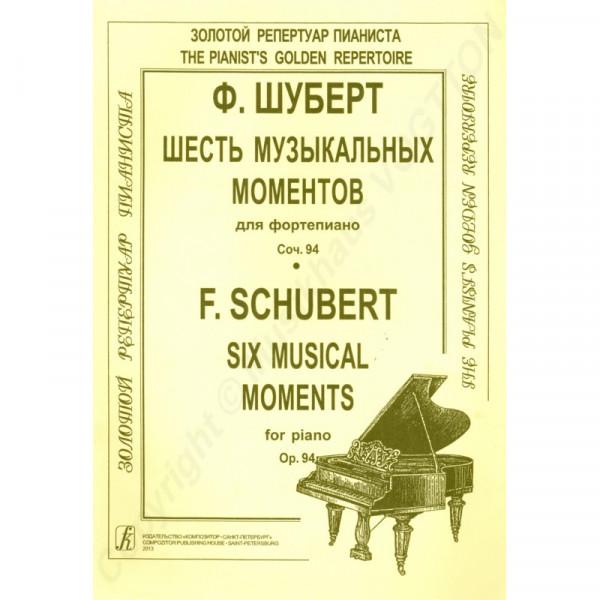Franz Schubert Sechs musikalische Momente
