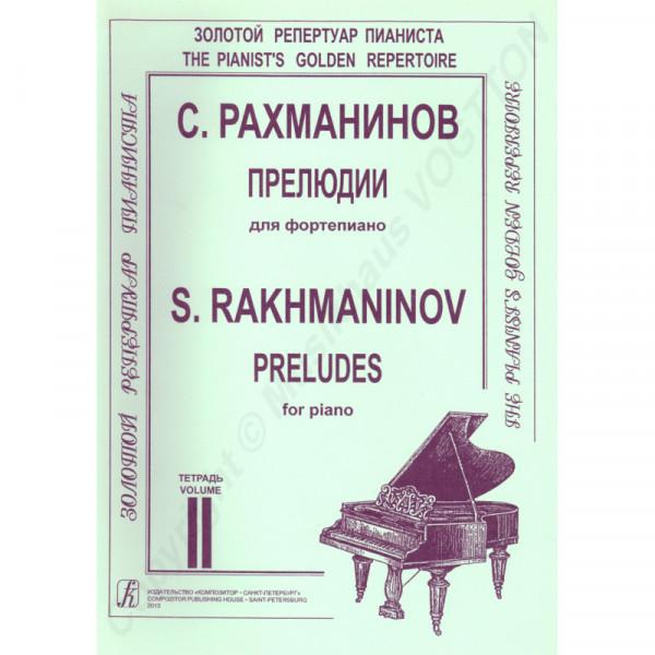 Sergej Rachmaninov, Präludien, Heft 2
