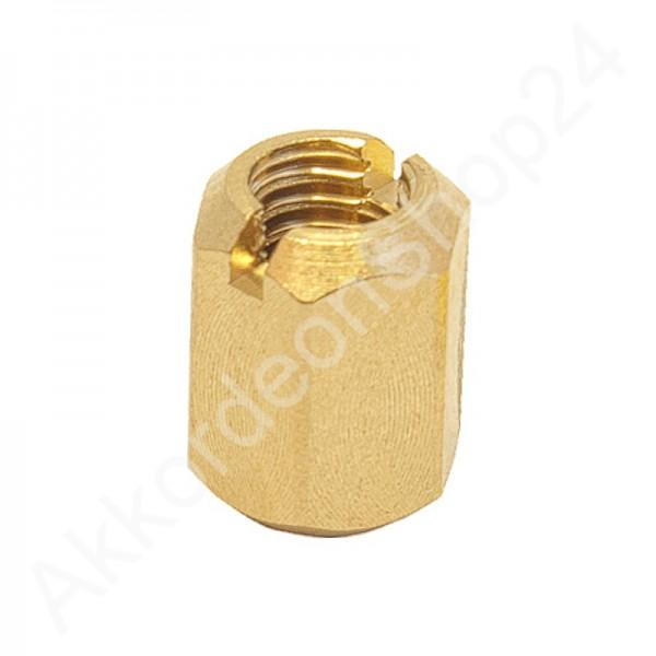 Reed-block-nut-hexagonal-M4