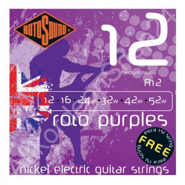 Rotosound E-Guitar Strings R12 12-52