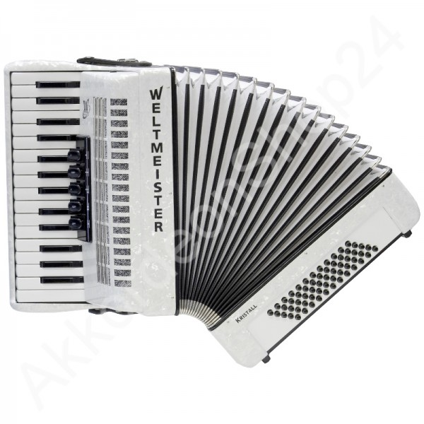 Accordion-Weltmeister-Kristall-white