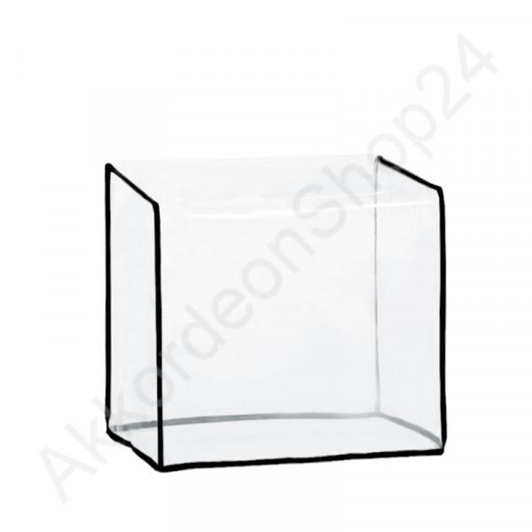 Diatonic accordion dust cover 310x310x210 mm, transparent