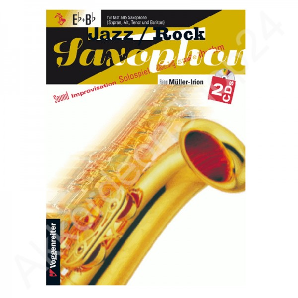 Jazz / Rock Saxophon Eb+Bb (with 2CDs)