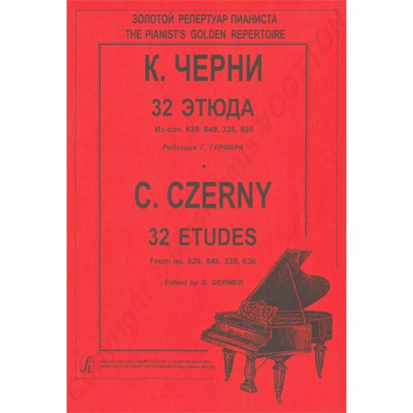 Czerny Germer, 32 Etüden für Klavier