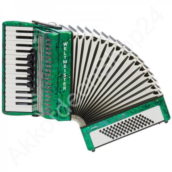 Accordion-Weltmeister-Juwel-green