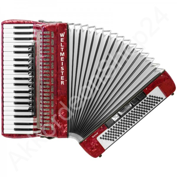 Accordion-Saphir-red