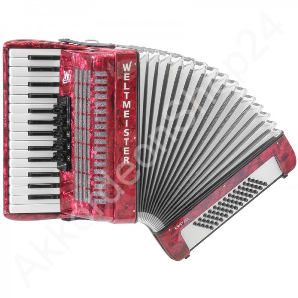 Accordion-Weltmeister-Kristall-red
