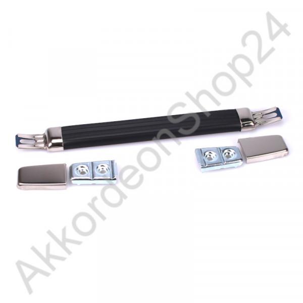 230x21x10mm Case handle rubber black