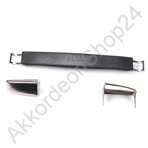 200x24x16mm Case handle plastic black