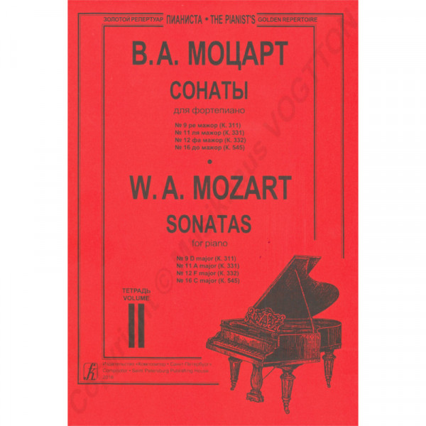 Wolfgang Amadeus Mozart Sonaten, Heft 2