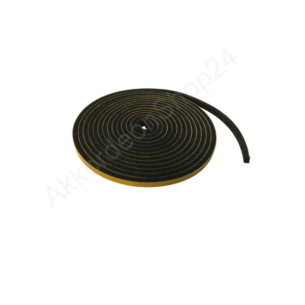 2m roll, 4x3mm Bellow-seal, self-adhesive