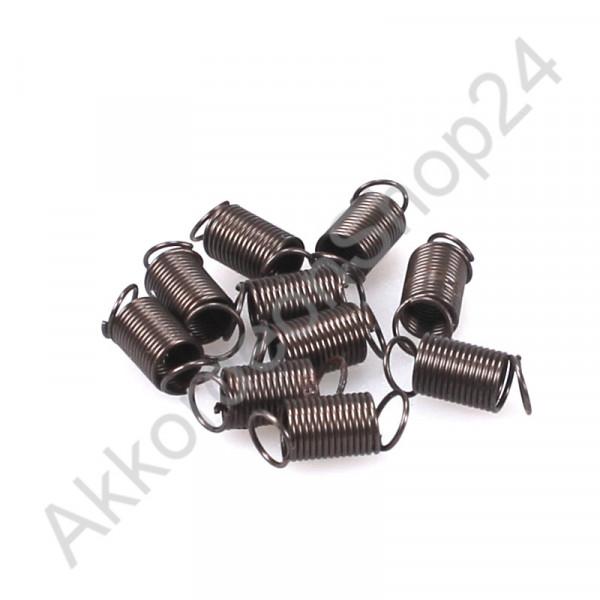10pcs. Ø5x7mm treble spiral spring