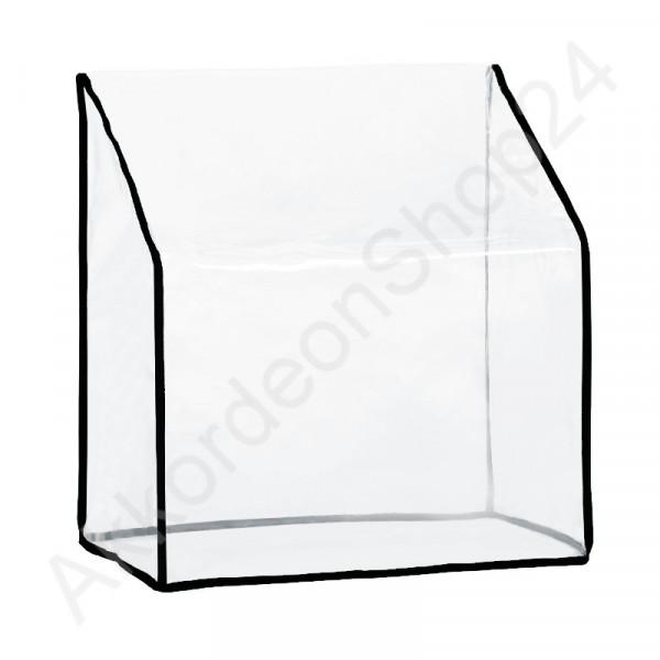 96 accordion dust Cover 480x420x230 mm, transparent