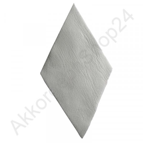 10Stk. Akkordeon Balg Lederecken 80x47 mm, chrom