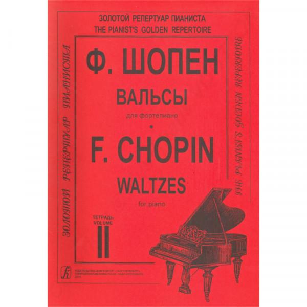 Frederic Chopin Walzer für Klavier, Heft 2, Herausgeber K. Mikuli