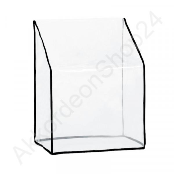48-60 accordion dust Cover 380x420x230 mm, transparent