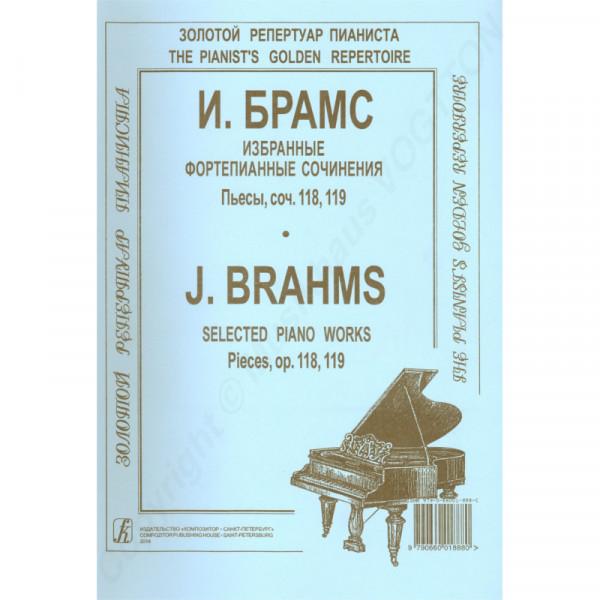 Johannes Brahms ausgewählte Werke op. 118, 119 für Klavier