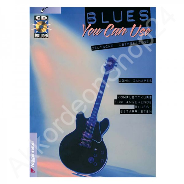 John Ganapes - Blues you can use (with CD)