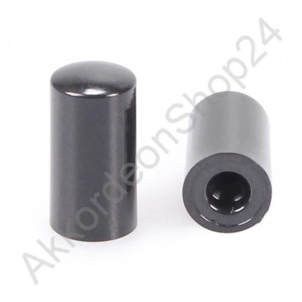 Air button 14x7mm - black