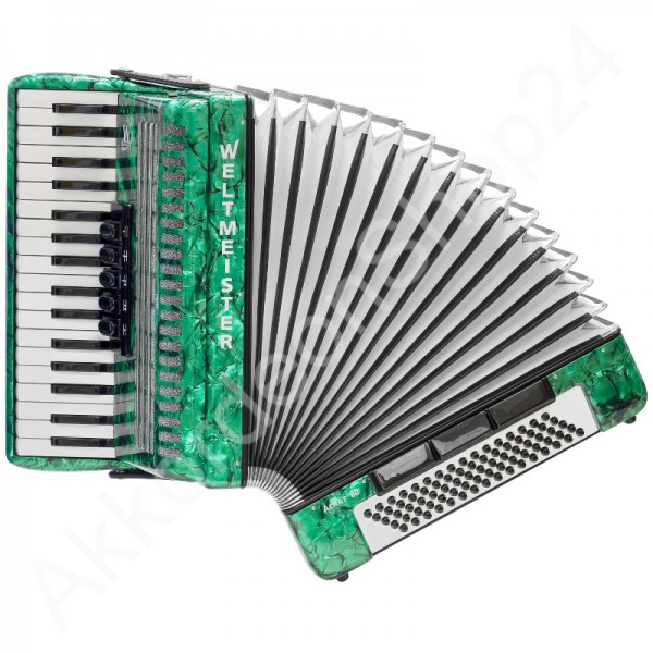 Accordion-Weltmeister-Achat-80-green