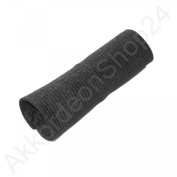 Buckle guard 7 cm for shoulder straps, black
