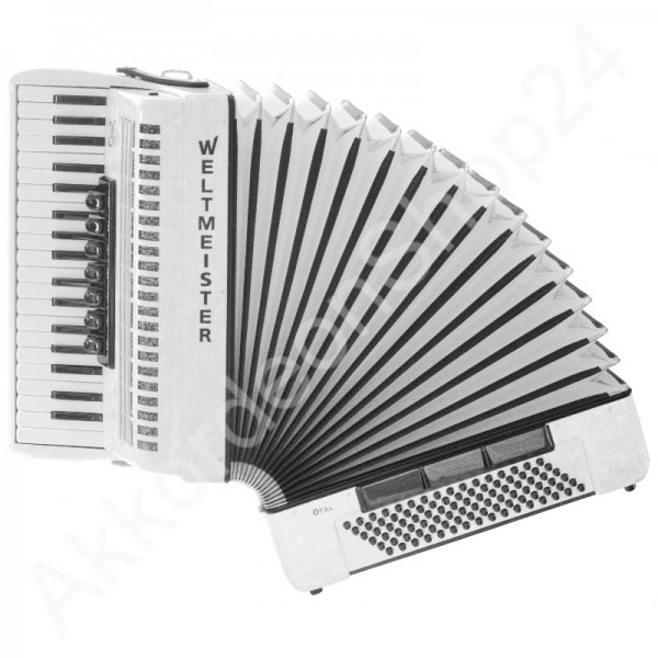 Accordion-Weltmeister-Opal-white