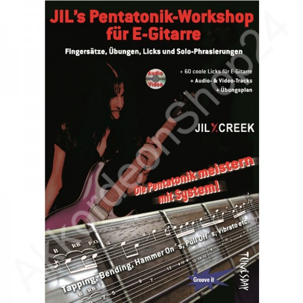 Jil's Pentatonik-Workshop für E-Gitarre (CD+ (Audio/Video))
