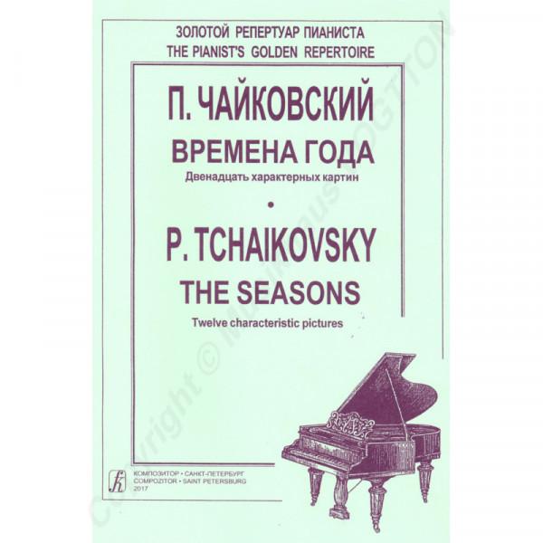 Peter Tschaikowsky, Jahreszeiten, zwölf Charakterbilder für Klavier
