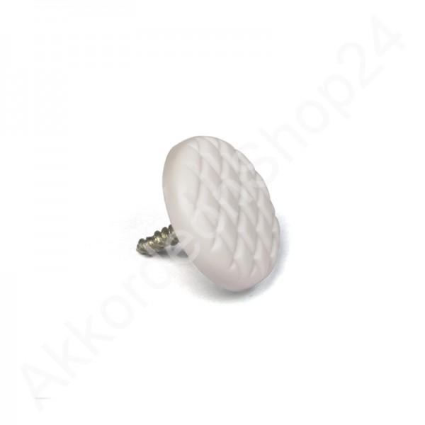 accordion-treble-button-fluted-white