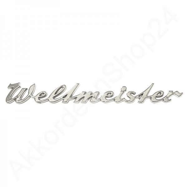 Lettering-WELTMEISTER