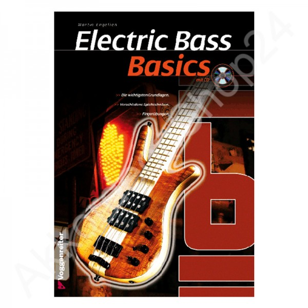Basics Electric Bass (with CD)