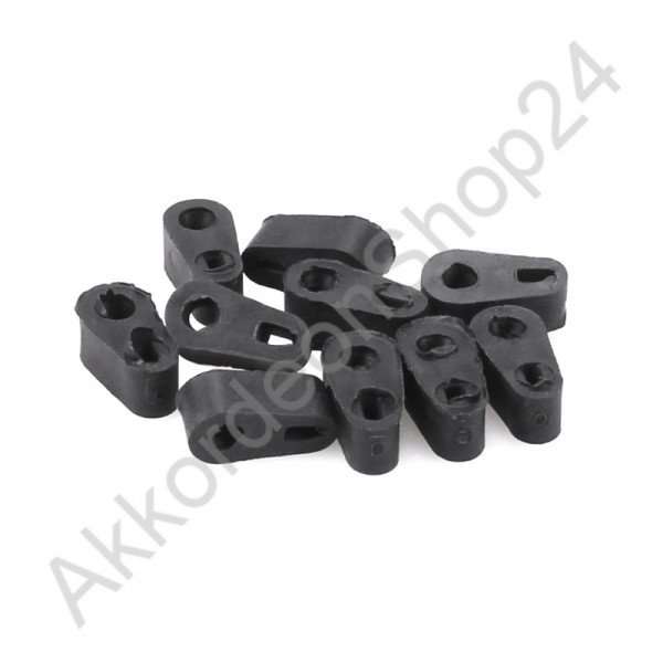 10pcs. replaceable rubber for accordion clavis lever